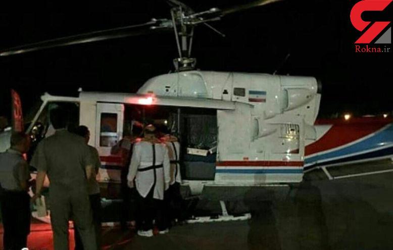 فوری / سقوط هلیکوپتر ایرانی در خلیج فارس