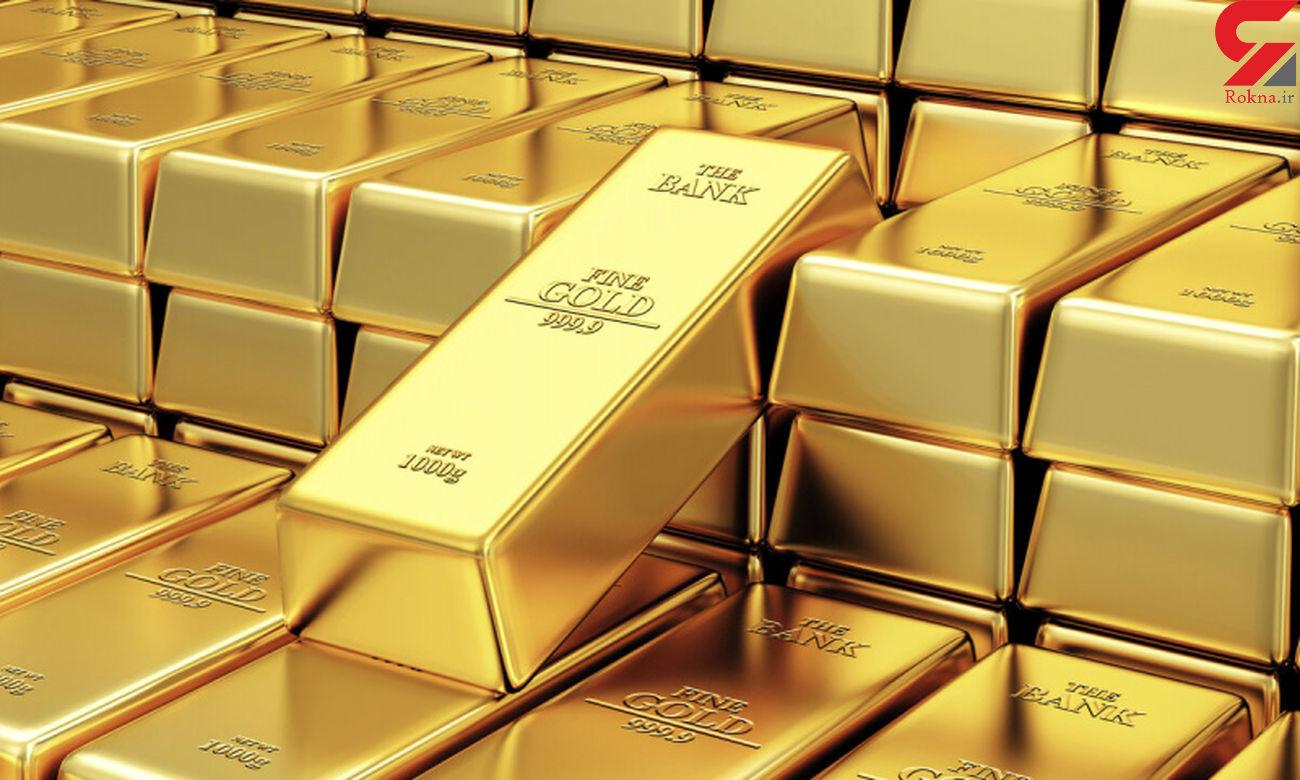 قیمت طلا صعودی شد / دلار کاهش یافت + جزئیات