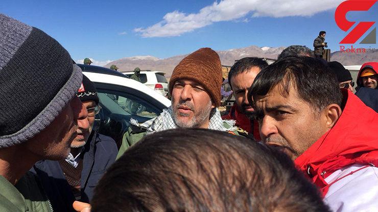 فرمانده ارشد سپاه اصفهان در محل سقوط هواپیما / گزارش عملیات تا این لحظه+ فیلم و عکس