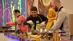 مسابقه آشپزی دو ورزشکار جهانی در تلویزیون
