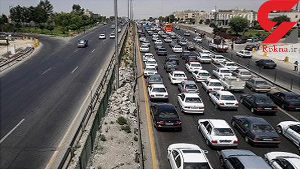 ترافیک در آزادراه کرج-تهران نیمه سنگین است/ مه گرفتگی در استان خراسان رضوی