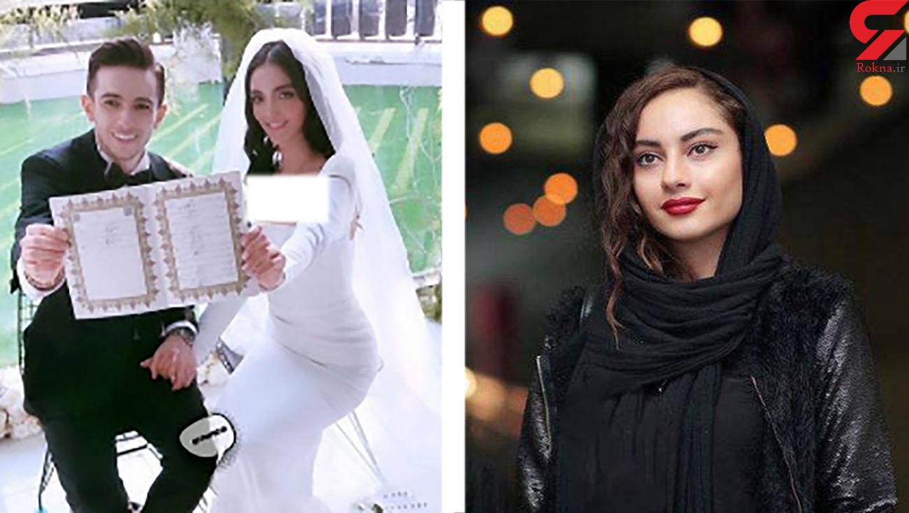 مقایسه زیبایی ترلان پروانه با همسر اصلی فرشاد احمدزاده ! + فیلم غیراخلاقی و عکس های عروسی