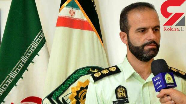 سارق مسلح پراید در شاهرود دستگیر شد.