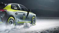 خودرو Opel Corsa-e، اولین اتومبیل الکتریکی مسابقات رالی +تصاویر
