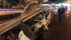 تصادف بامدادی دو دستگاه خودرو در بزرگراه شهید بابایی