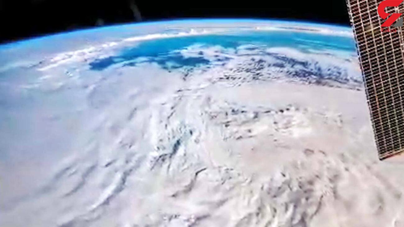 زمین را از ایستگاه فضایی ISS ببینید + فیلم