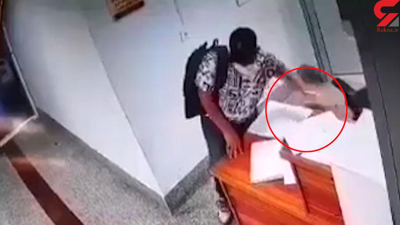 فیلم لحظه سرقت 30 ثانیه ای موبایل در لنگرود