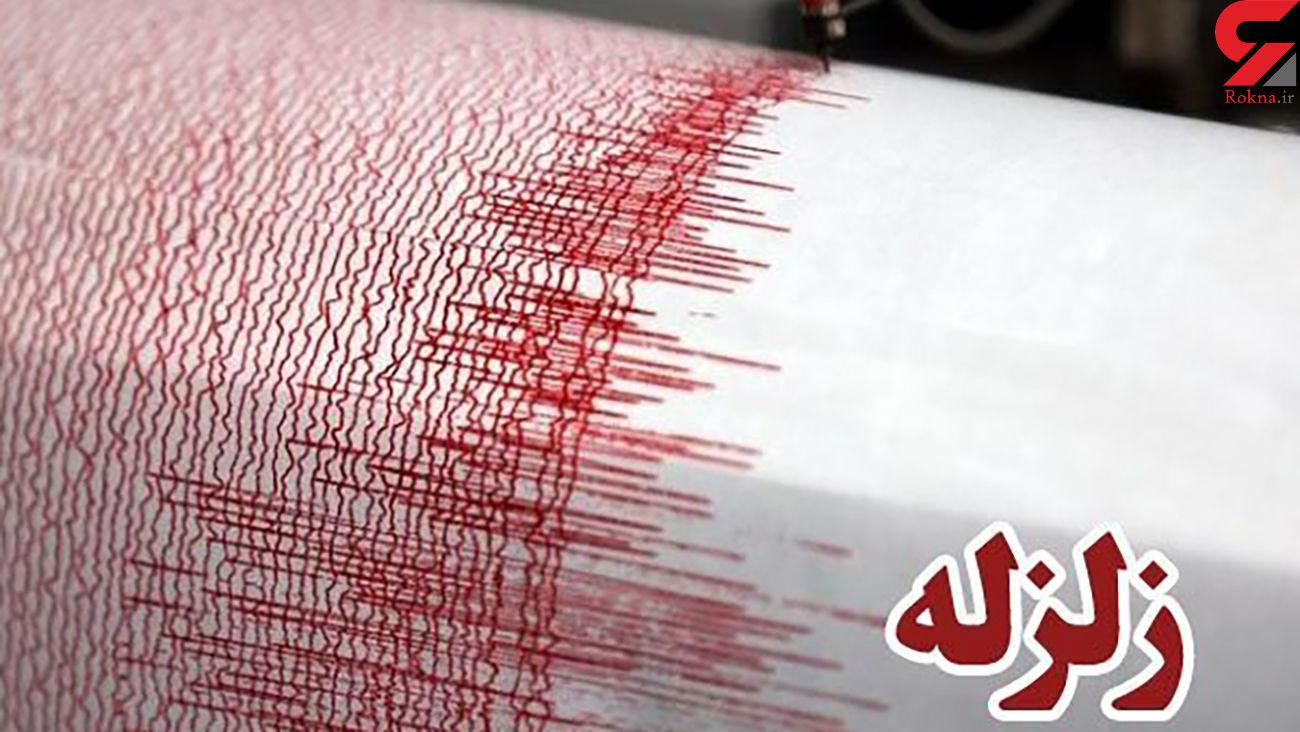 زلزله شدید در بندر گناوه / دقایقی پیش رخ داد