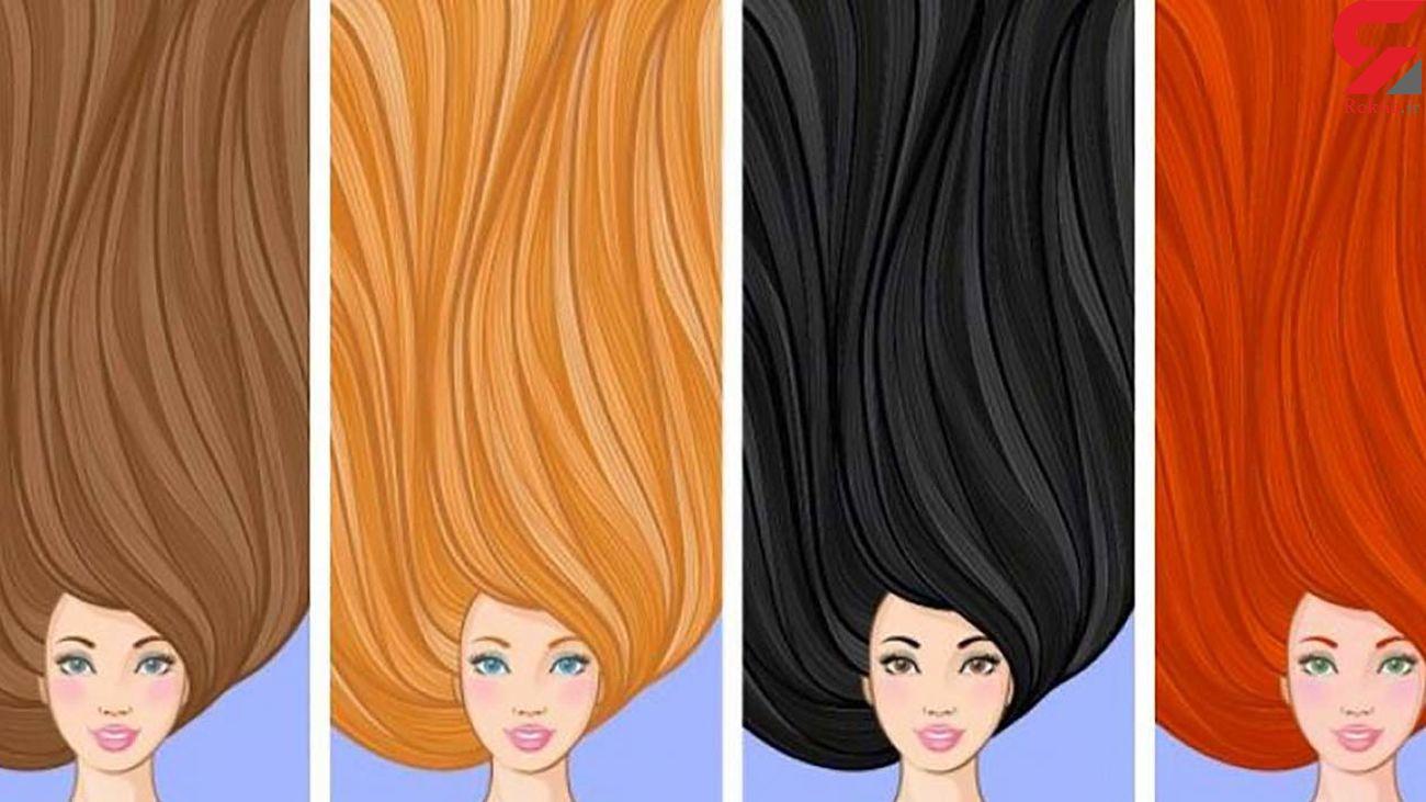 کدام رنگ موها مورد پسند مردان است؟