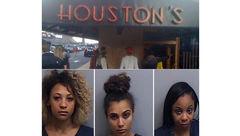 کتک خوردن مامور پلیس از 3 بازیگر زن + عکس
