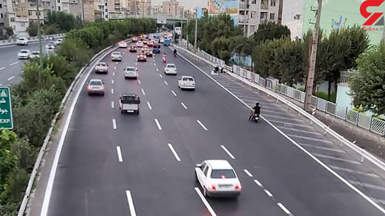 خط کشی 90 کیلومتر از بزرگراه های جنوب تهران