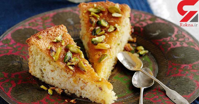 کیک باقلوای خانگی بپزید+دستور تهیه
