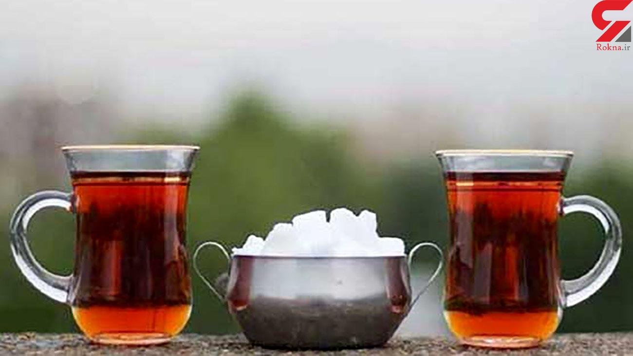 تاثیر چای روی استامینوفن