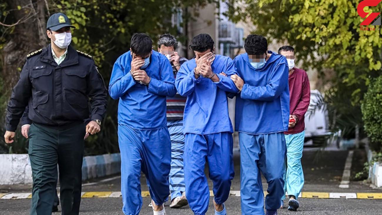 بازداشت 97 تبهکار در البرز / از اسیدپاشی تا قتل !
