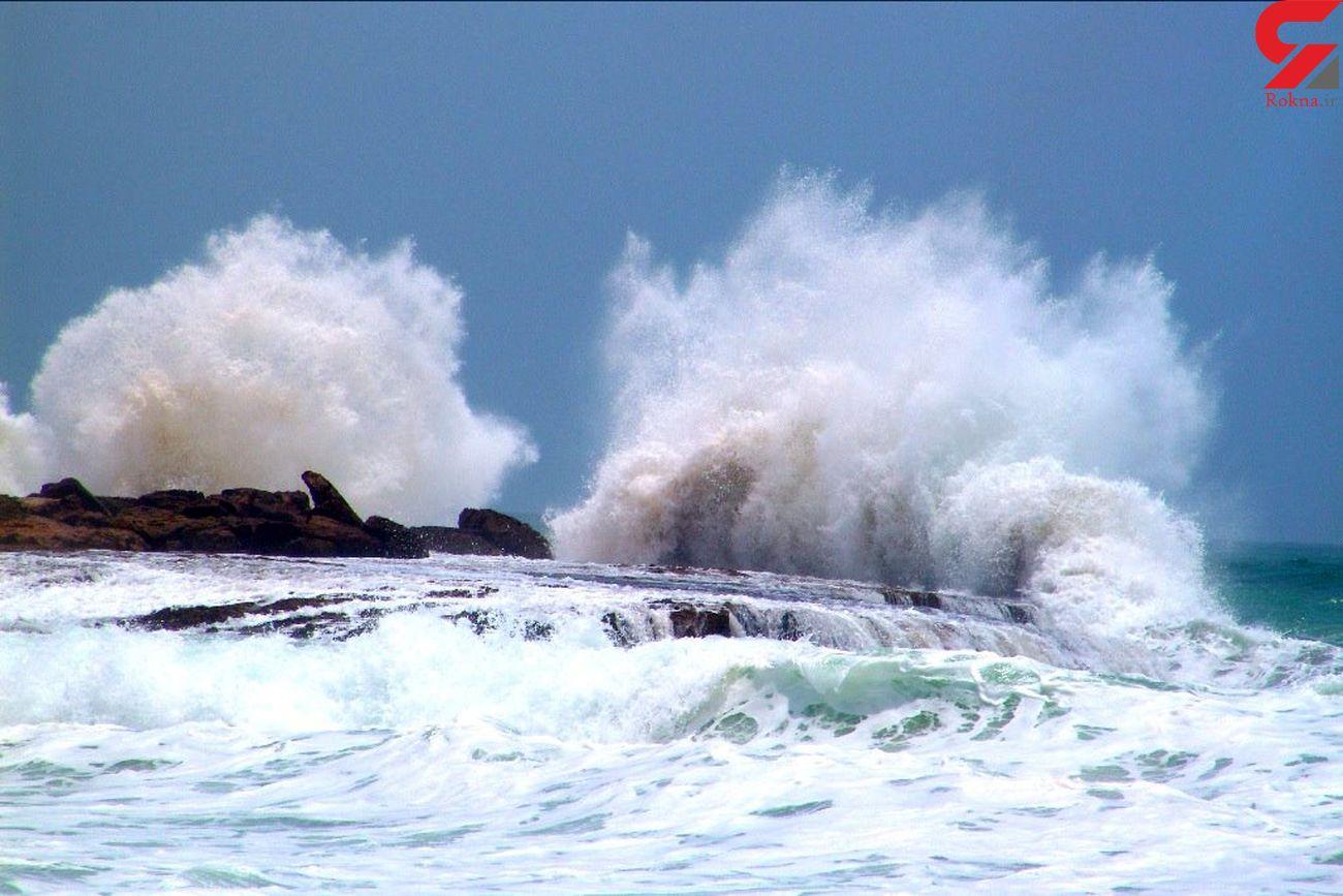 هشدار هواشناسی به شمالی ها و جنوبی ها / احتمال غرق شدن قایق های کوچک و شناورهای سبک