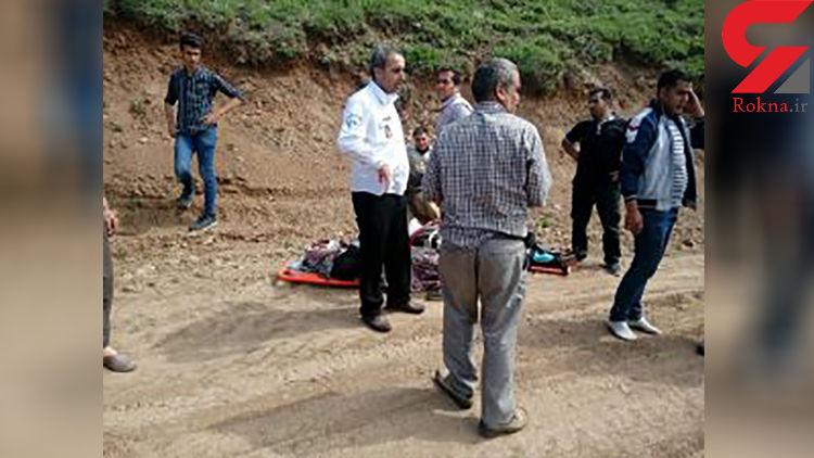 نجات معجزه آسای 2 زن جوان و یک نوزاد از دره 500 متری / دیروز در زنجان رخ داد + عکس