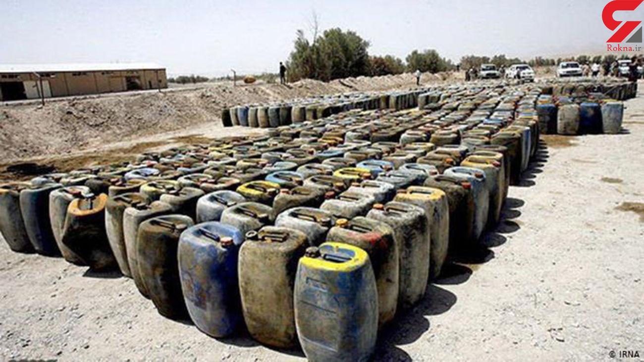 کشف 30 هزار لیتر گازوئیل قاچاق در بم