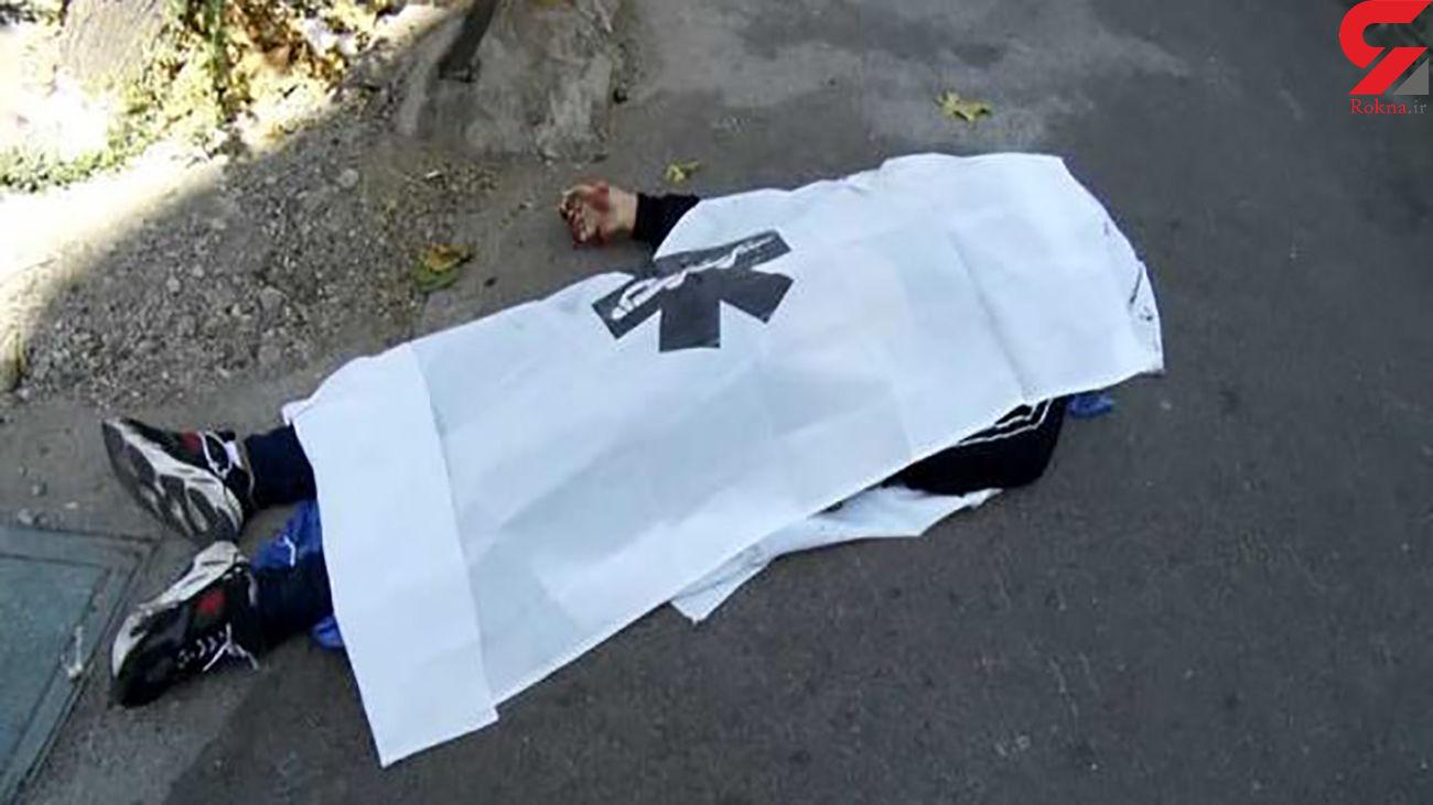 سقوط آزاد و مرگبار  کارگر جوان 30 ساله در همدان