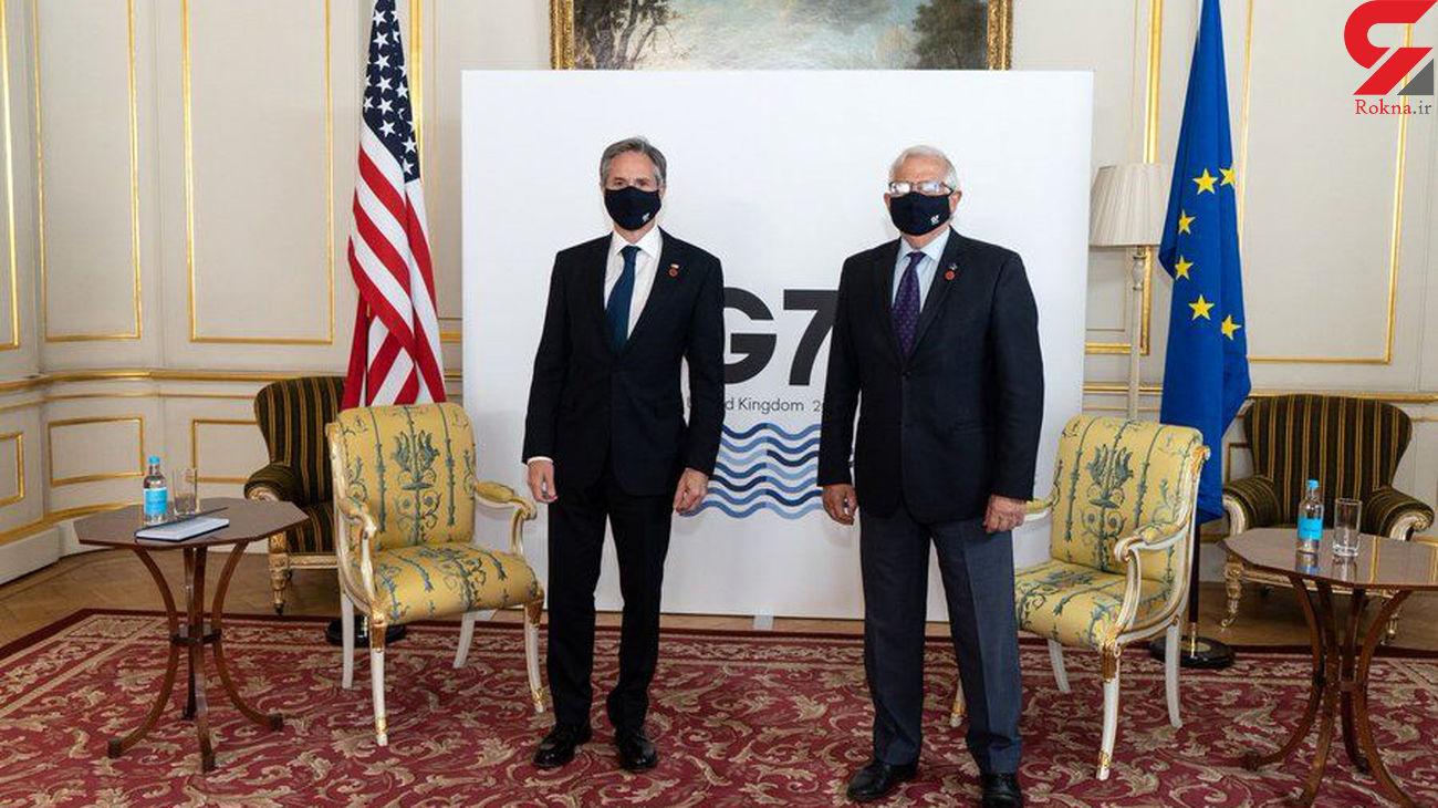 برجام روی میز امریکا / اتحادیه اروپا در نقطه رایزنی با وزیر امورخارجه امریکا
