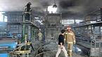 مصدومیت یک نفر در حادثه آتش سوزی کارخانه ایزوگام ساری