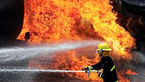 راهی شدن 3آتش نشان به بیمارستان در آتش سوزی