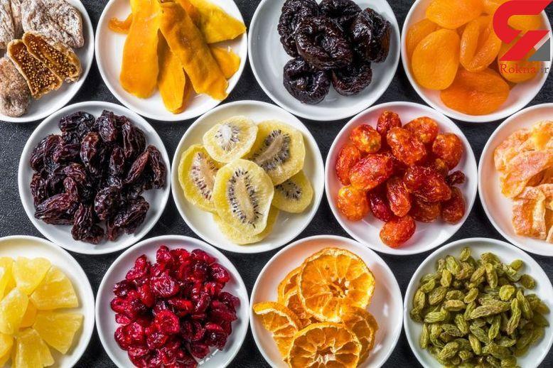 ساده ترین فوت و فن خانگی برای خشک کردن میوه