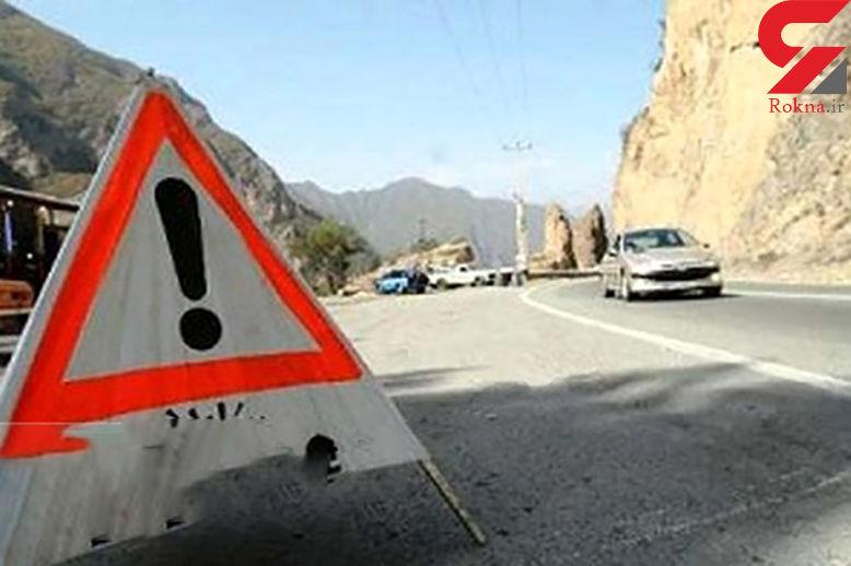 جاده هراز از فردا مسدود می شود
