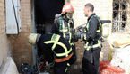 آتش سوزی هولناک در خانه شرکت نفتی آبادان +تصاویر