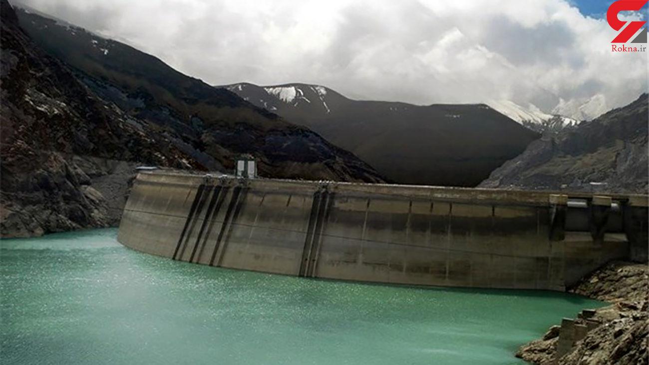 ورودی آب به سدهای تهران 20درصد کاهش یافت