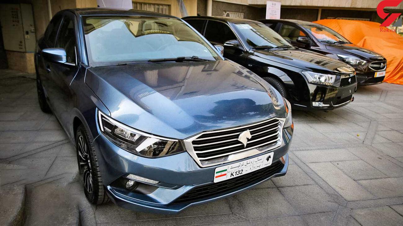 """همه چیز درباره """"کا 132"""" خودروی جدید ایران خودرو + قیمت و جزئیات"""