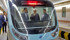 متروسواری حسن روحانی در مشهد