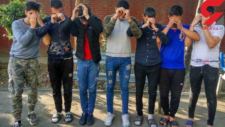 9 مرد مخوف در نیشابور خون به پا کردند + عکس
