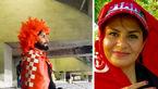 یک زن با ریش و سیبیل به ورزشگاه آزادی رفت + عکس