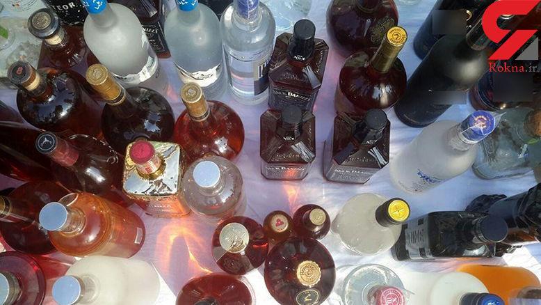 کشف ۱۰۰۰ لیتر مشروبالکلی و ۲ تخته فرش ۲۰۰ میلیونی در شمال تهران + تصاویر