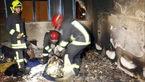 مرد مشهدی در اقدامی جنون آمیز همسر، فرزند و مرد غریبه را به آتش کشید + عکس