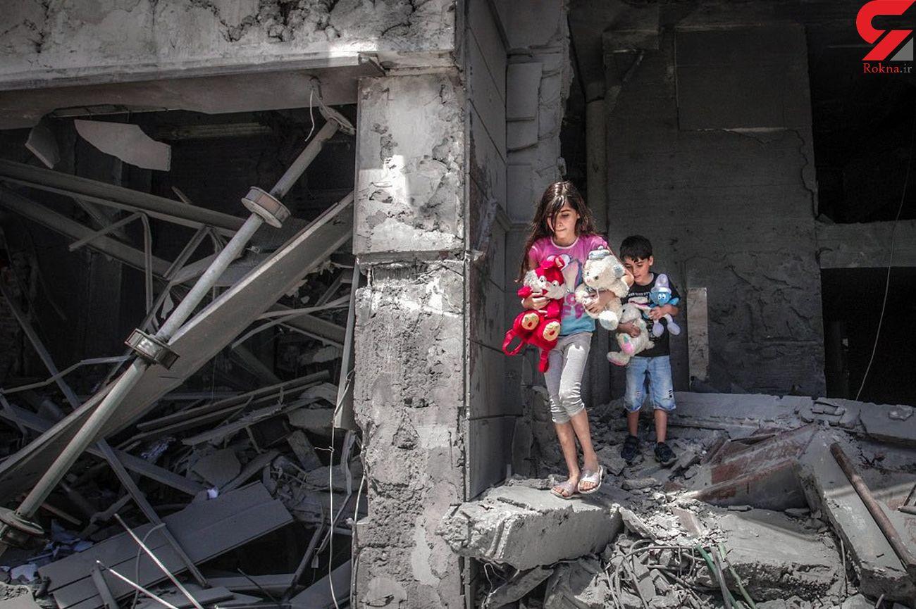 تلخترین تصویر از امروز غزه که فضای مجازی را بغض دار کرد