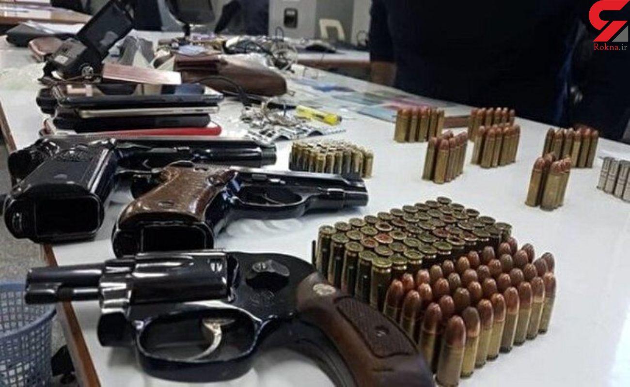 انهدام باند قاچاق سلاح در کرمانشاه/ دو نفر دستگیر شدند