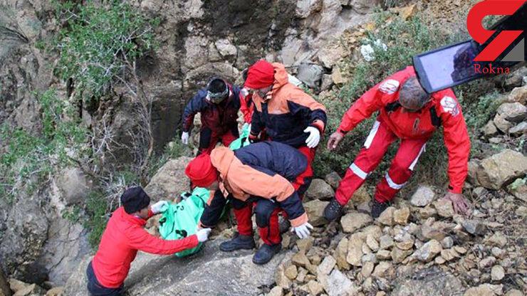 مرگ کوهنورد تنها در ارتفاعات دراک شیراز
