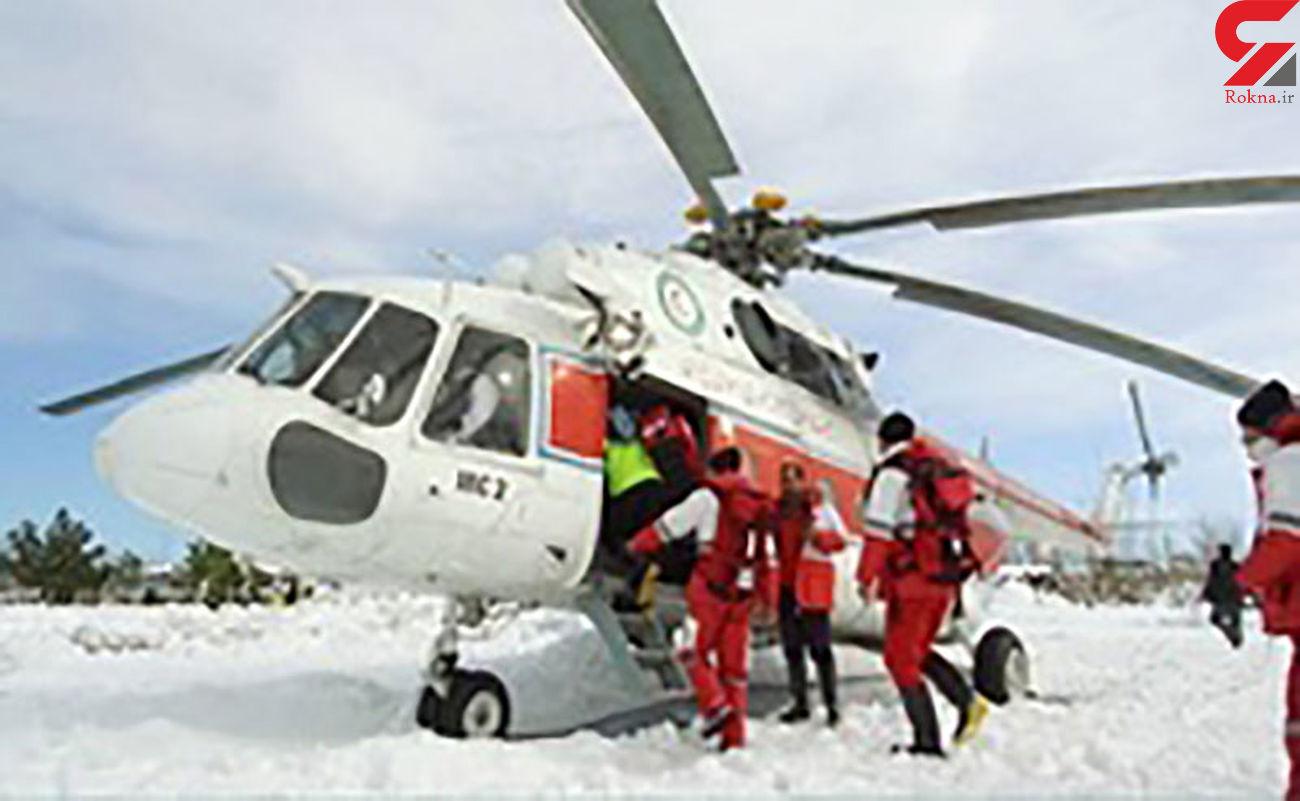 کوهنوردان تنبل برای بازگشت با هلیکوپتر  به دروغ گزارش حادثه می دهند / ایران + فیلم