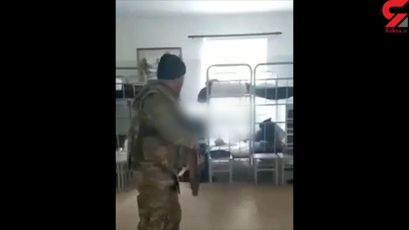 تصرف پادگان ارتش ارمنستان + فیلم