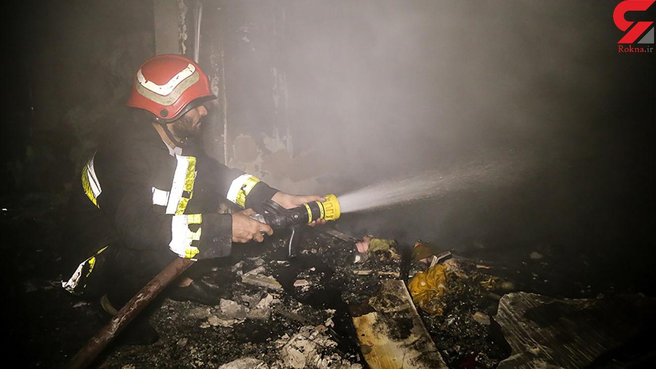 زنده زنده سوختن سمیه و کودک 2 ساله اش در آتش سوزی / سمیه کوهنورد معروف ساری بود + عکس