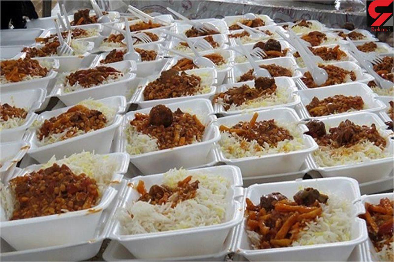 طبخ و توزیع ۶۱۲ هزار پرس غذای گرم بین نیازمندان مازندرانی