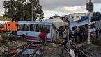 61 کشته و مجروح در برخورد ۲ قطار
