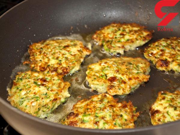 کوکوی کدوسبز مناسب برای ناهار + دستور پخت