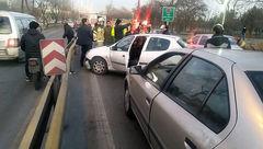 حادثه ای خونین در بزرگراه بعثت+ تصاویر