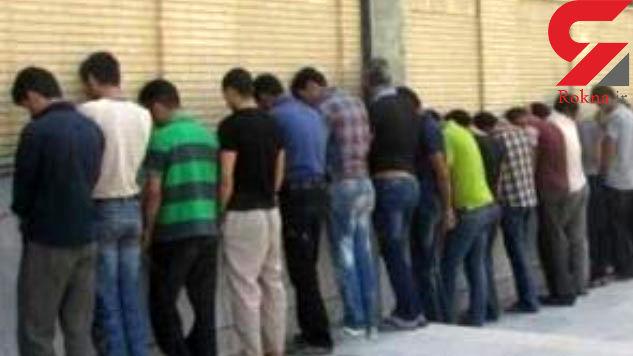 11 مالخر و موبایل قاپ در تهران دستگیر شدند