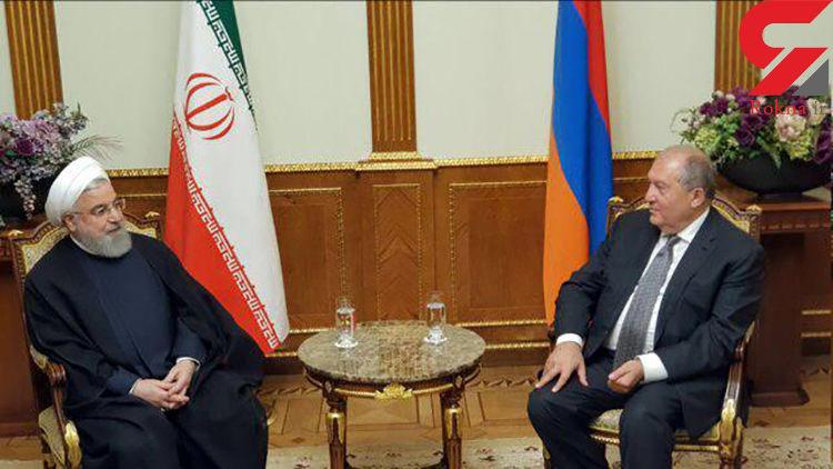 گسترش روابط با ارمنستان از اصول سیاست خارجی ایران است
