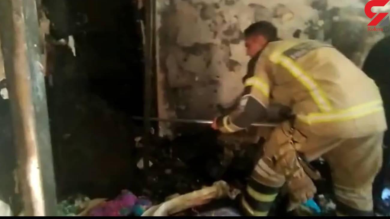 فیلم از 10 زن و مرد تهرانی که مرگ را به چشم دیدند / آتش سوزی مهیب در نبرد