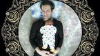 بخشش، آخرین درس پدر به نوزاد +عکس