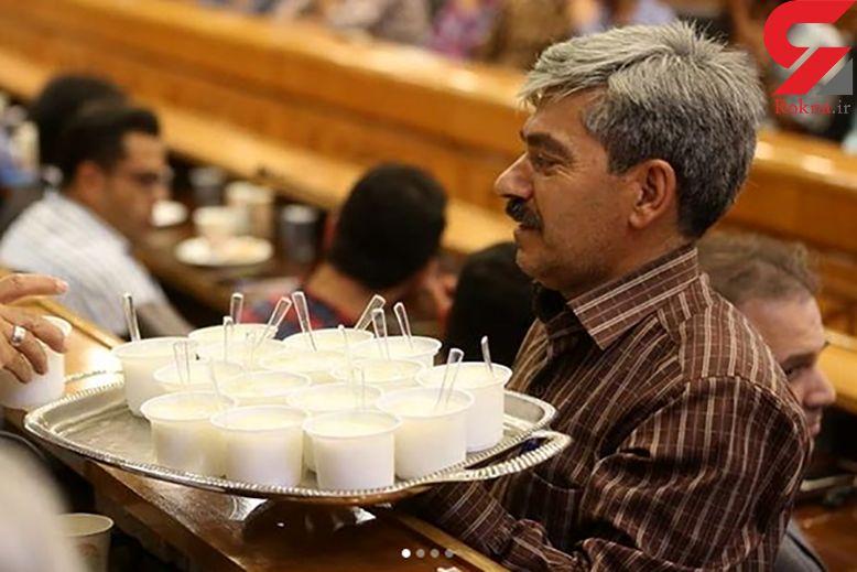 لحظه فالوده شیرازی خوردن وزیر جوان+ تصاویر